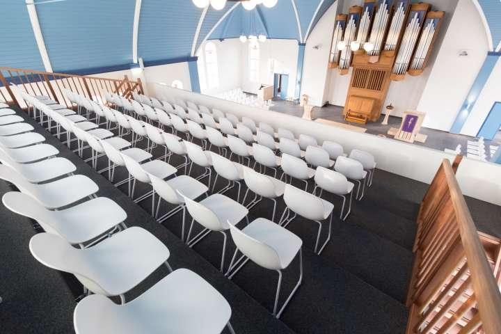 Kerkzaal 'Hemelsblauw'