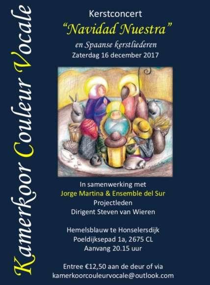 Uniek Spaans kerstconcert 16 december